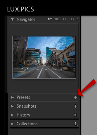 How to Create Your Own Lightroom Presets 3